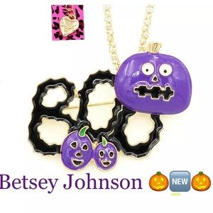 Betsey Johnson Pumpkin Necklace 🎃🆕🎃